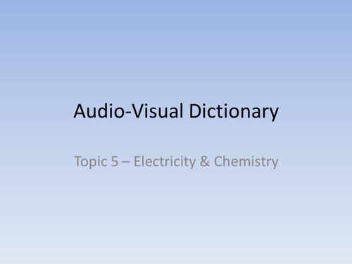 Audio Visual Dictionaries IGCSE Chemistry