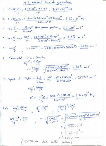 IB Physics Topic 10 (HL): Fields