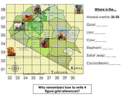 Physical Landscape in Kenya