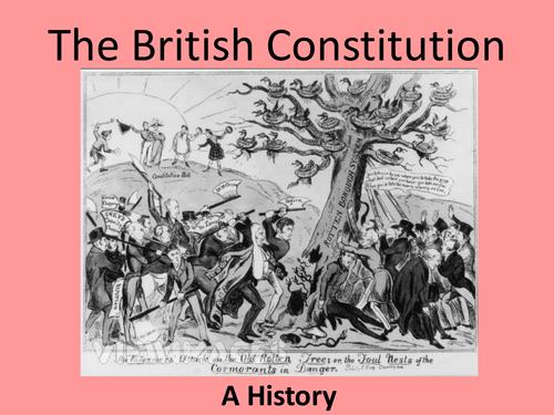 OCR AS/A Level Politics - The British Constitution a History/Comparison