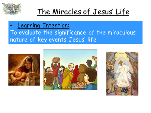 The Miracles of Jesus' Life