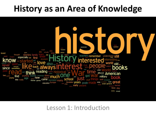 Theory of Knowledge IB Introduction to History as an Area of Knowledge