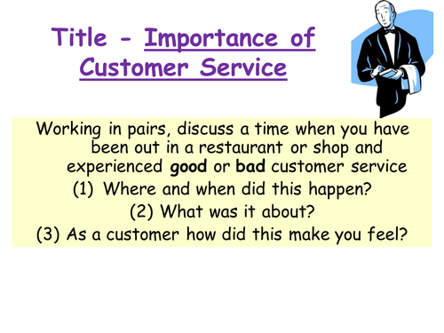 Customer Service by andrewjohn82 Teaching Resources Tes – Customer Service Worksheets