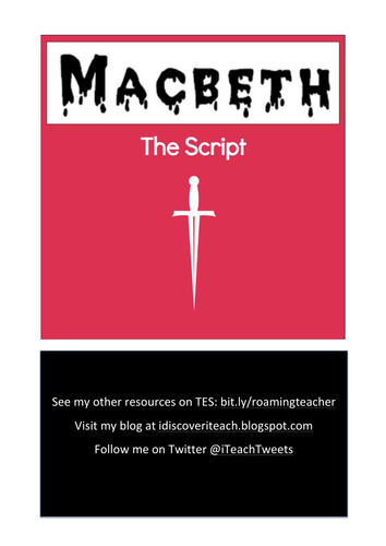Macbeth: The Script