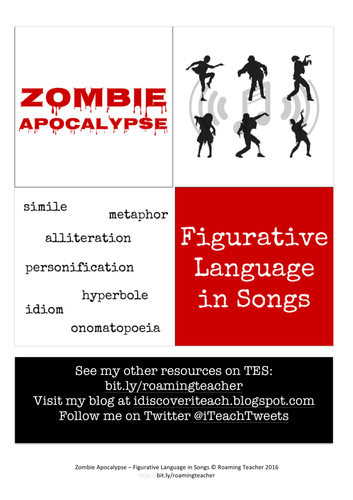 Zombie Apocalypse: Figurative Language in Songs