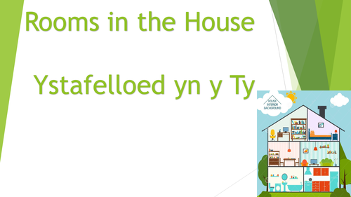 Rooms in the House - Second Language Welsh - Tedi Twt
