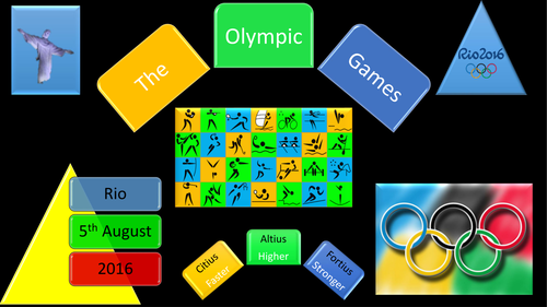 Olympic Games and Rio 2016 Presentation
