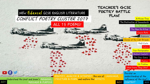 aqa conflict cluster all poem resource by simonccx uk teaching resources tes. Black Bedroom Furniture Sets. Home Design Ideas