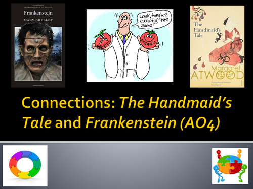 New Edexcel AS English Literature comparing The Handmaid's Tale and Frankenstein