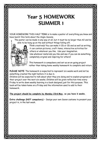 The anglo saxons homework help