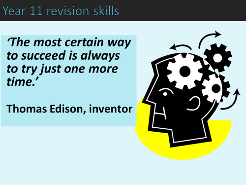Revision Skills