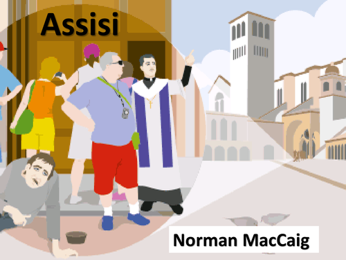 norman maccaig assisi essay Write a well-structured and appropriate critical essay on the poem who is norman maccaig assisi is the home of st francis of assisi.