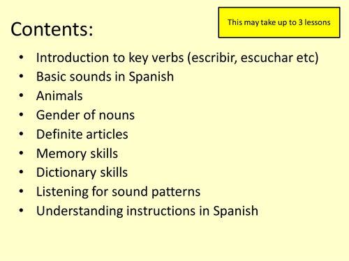 Spanish Phonics And Pronunciation By Sarah2209 Teaching