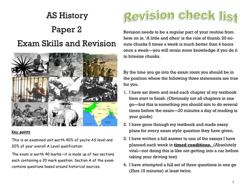 Edexcel Paper 2: India, c1914–48: the road to independence Complete Revision Guide