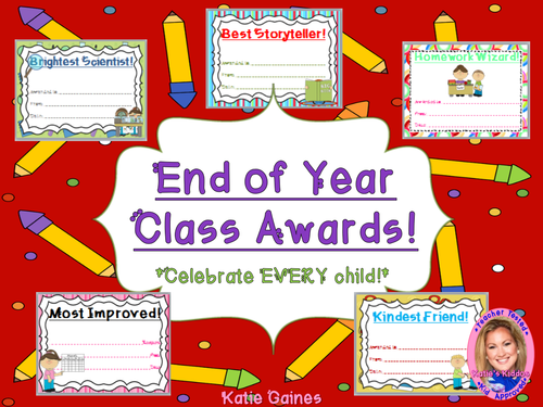 End of Year Class Awards!
