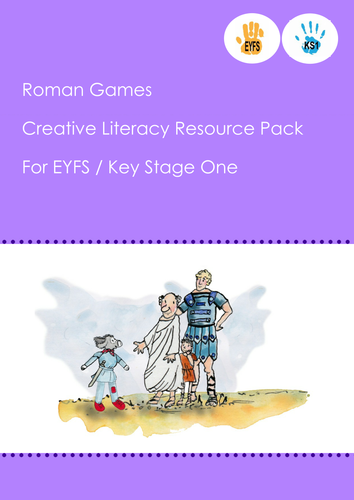 Roman Games 6 weeks of lesson plans linked to story