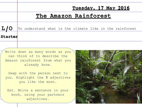 Climate Of The Amazon Rainforest Climate Graphs By