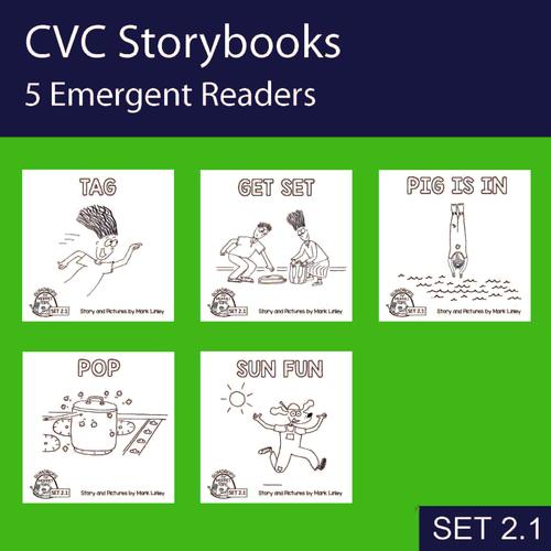 5 Emergent Readers ~ SET 2-1