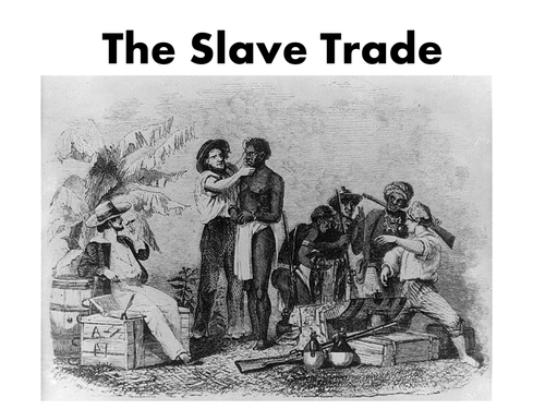 How the Slave trade Started.