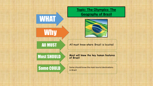The Olympics in Brazil - Rio 2016
