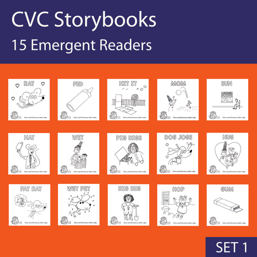 15 Emergent Readers - SET 1