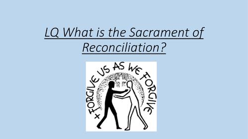 Sacrament of Reconciliation information PPT