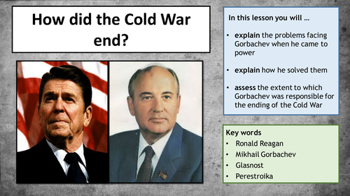 how ronald reagans ended cold war essay A summary of foreign policy: 1981–1989 in 's ronald reagan learn exactly what happened in this chapter, scene, or section of ronald reagan and what it means.