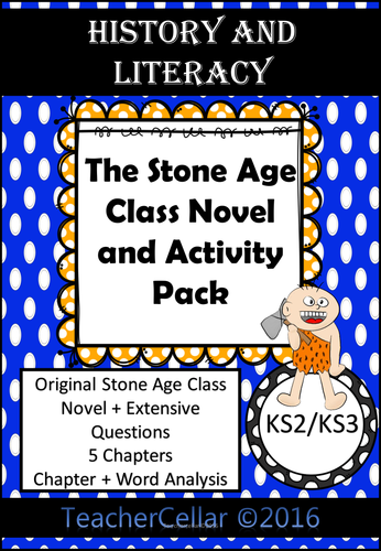 the stone age class novel and activity pack for ks2 by uk teaching resources tes. Black Bedroom Furniture Sets. Home Design Ideas