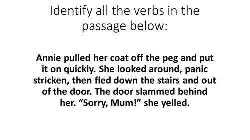 English Grammar Lesson Starters