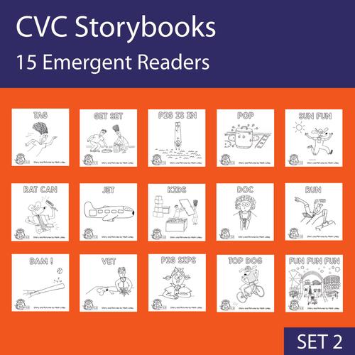 15 Emergent Readers - SET 2