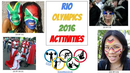 25 + Rio Olympics Five Minute Activities