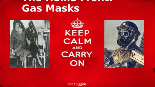 The Home Front: Gas Masks