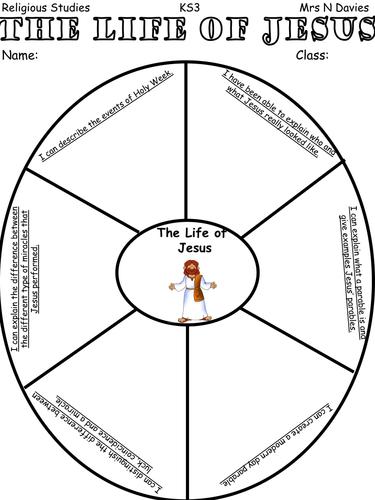 The Life of Jesus KS3 Unit of Work by FaithLeesHope