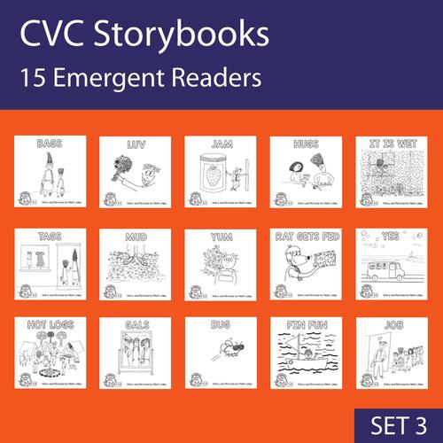 15 Emergent Readers - SET 3