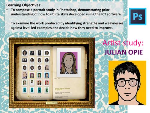 Create a Julian Opie inspired portrait using Photoshop CS4