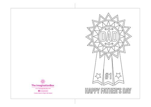10 Father's Day Creative Card Templates to print and decorate