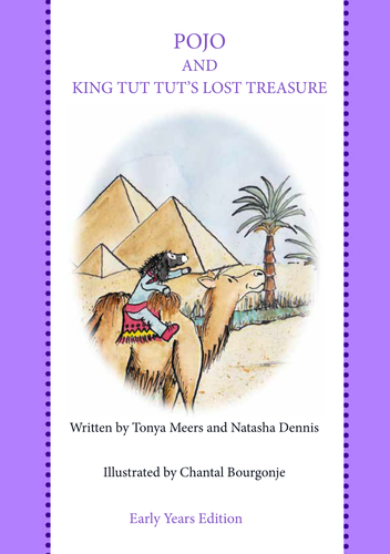 Egypt and Explorers 6 weeks of lesson plans and story book