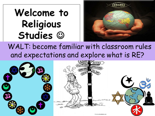 Year 7 Introduction to RE