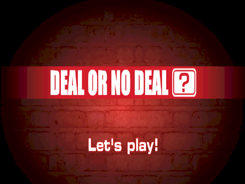 Deal or no deal- Best Buys