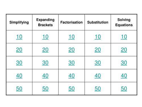 Venn diagrams mystery by simplyeffectiveeducation teaching algebra revision game ks3gcse foundation ccuart Choice Image
