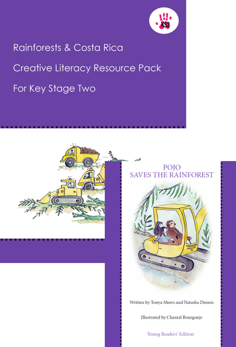 Rainforests & Costa Rica KS2 6 weeks of lesson plans and story book