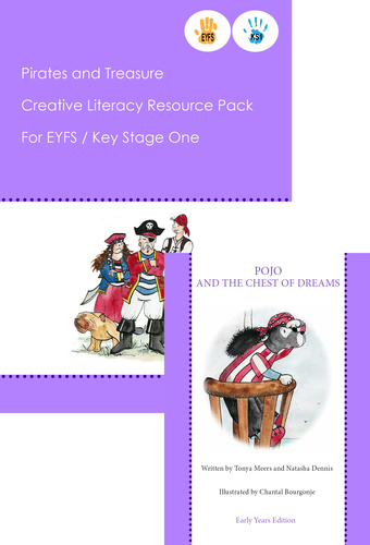 Pirates and Treasure EYFS/KS1 6 week resource pack and story book