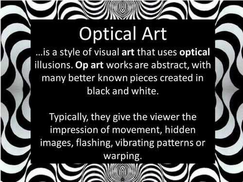 Optical Art Cube