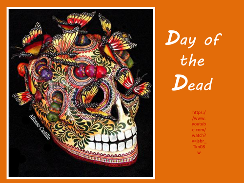 Day Of The Dead 3D Skull Designs By Amiebarnard