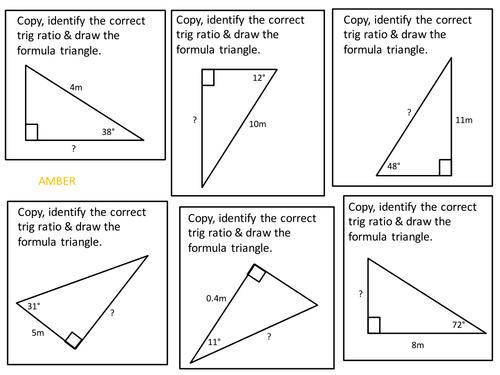 Introduction to Trigonometry MAGIC BOX ACTIVITY