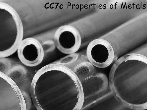 Edexcel CC7c Properties of Metals