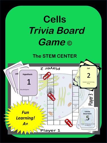 Cells: Tic-Tac-Trivia Game