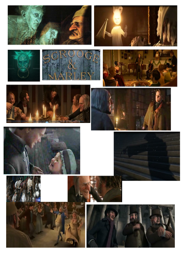 A recap and revision of Stave Two events in A Christmas Carol. Includes a picture plot sort by ...