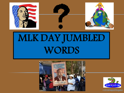 Martin Luther King Day PowerPoint Game