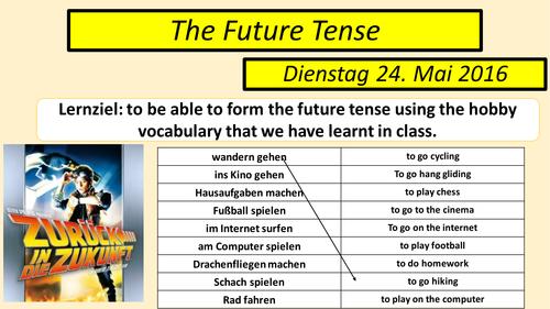 The Future Tense German